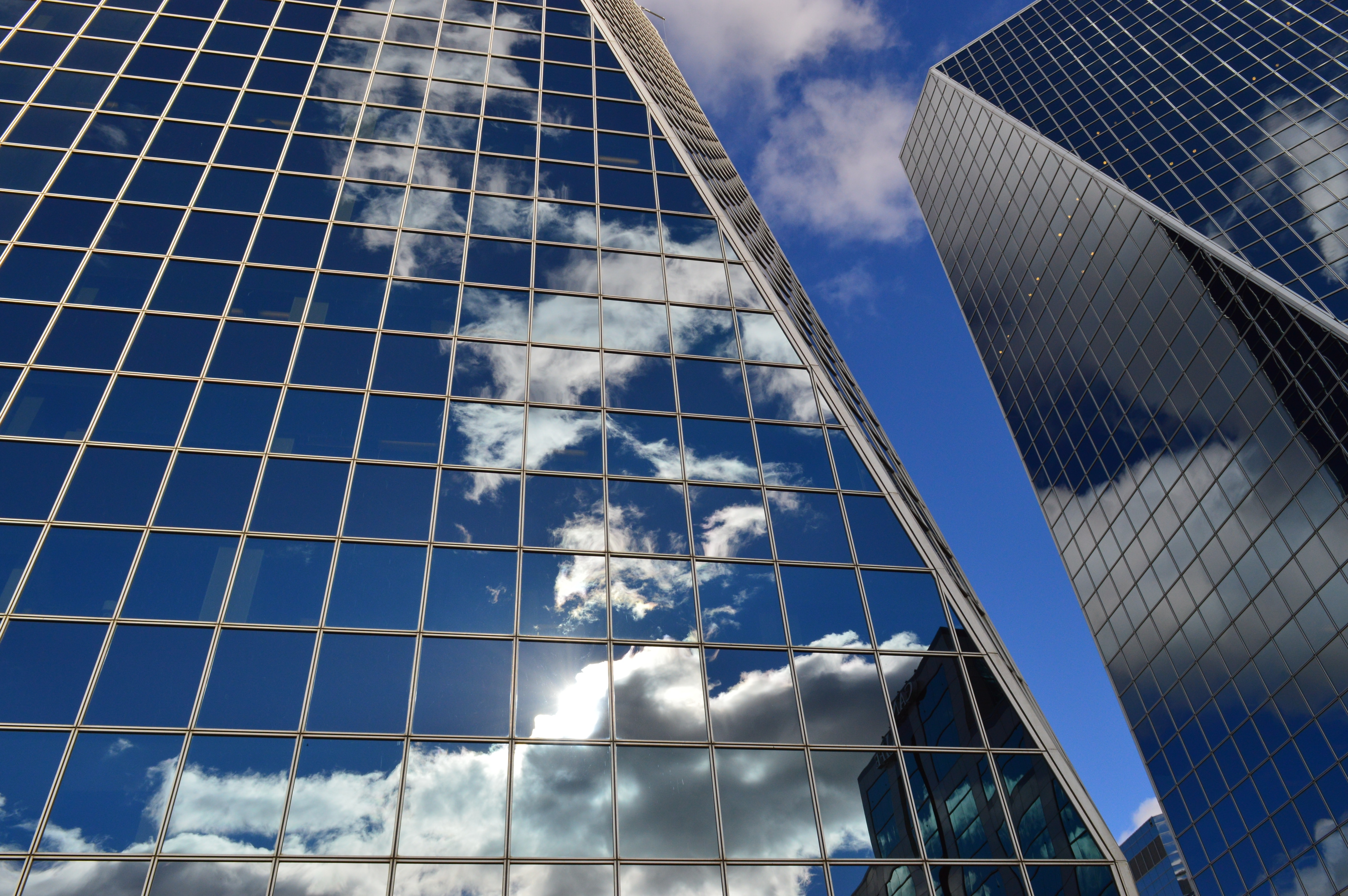 architecture-blue-buildings-273223